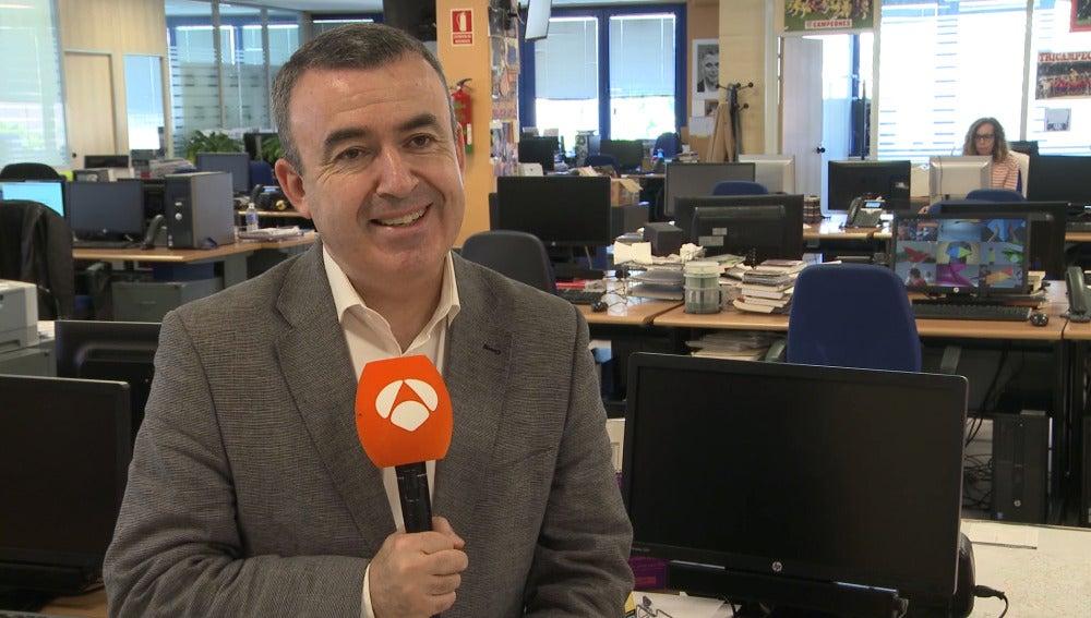 Lorenzo Silva en la entrevista