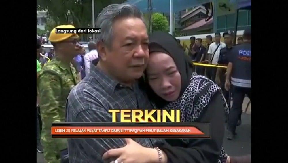 Al menos 24 muertos y cuatro heridos en el incendio de una escuela musulmana en Malasia