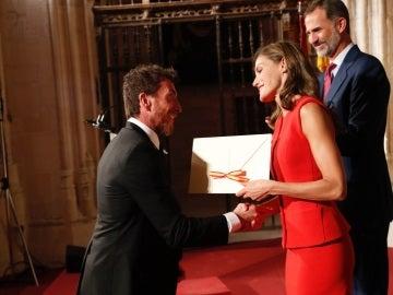Pablo Motos recoge el Premio Nacional de Televisión 2016