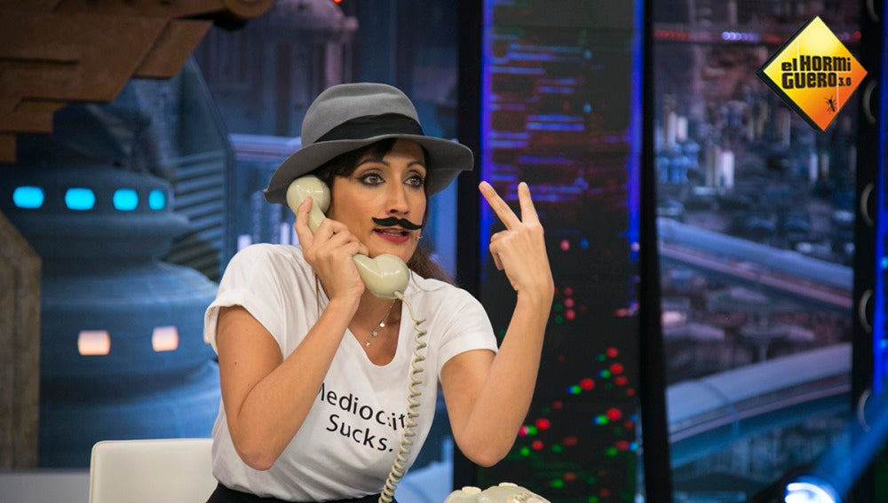 La interpretación más loca de Ana Morgade en 'El Hormiguero 3.0'