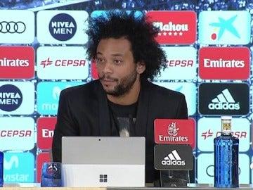 """Marcelo: """"Me siento canterano del Real Madrid, es un orgullo inmenso entrar en la historia del club"""""""