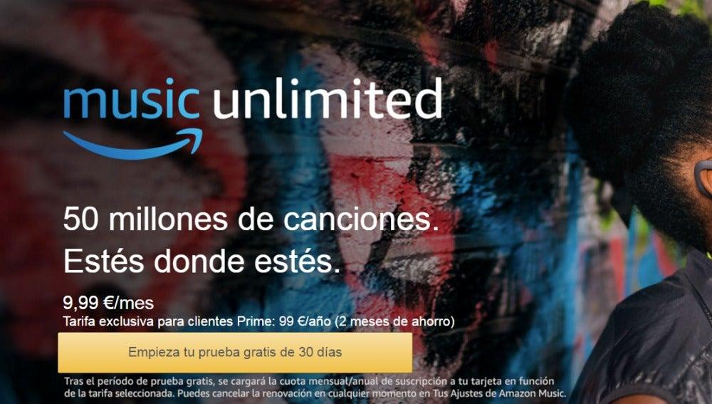 ANTENA 3 TV   Amazon planta cara a Spotify y lanza en España su ...