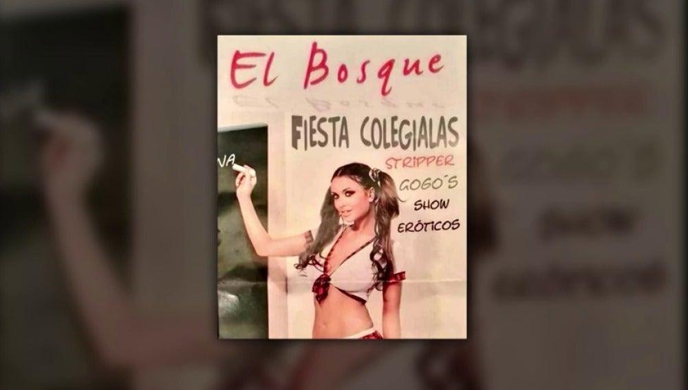 Denuncian una campaña de club de alterne de Huelva que incita a la pedofilia