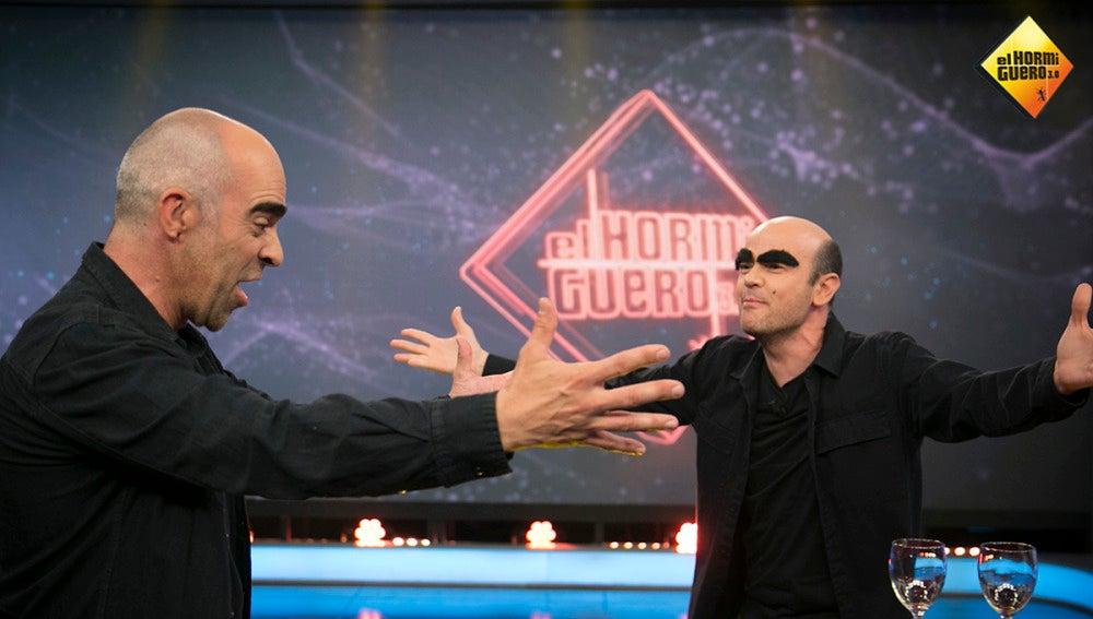 El homenaje de Jandro a Luis Tosar en 'El Hormiguero 3.0'