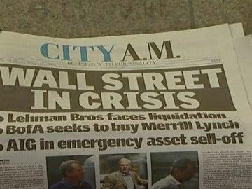 La caída de Lehman Brothers: 9 años del inicio de la crisis