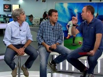 Manu Sánchez, Juan Antonio Paredero y Alberto de Pablo analizan la primera jornada de la Champions