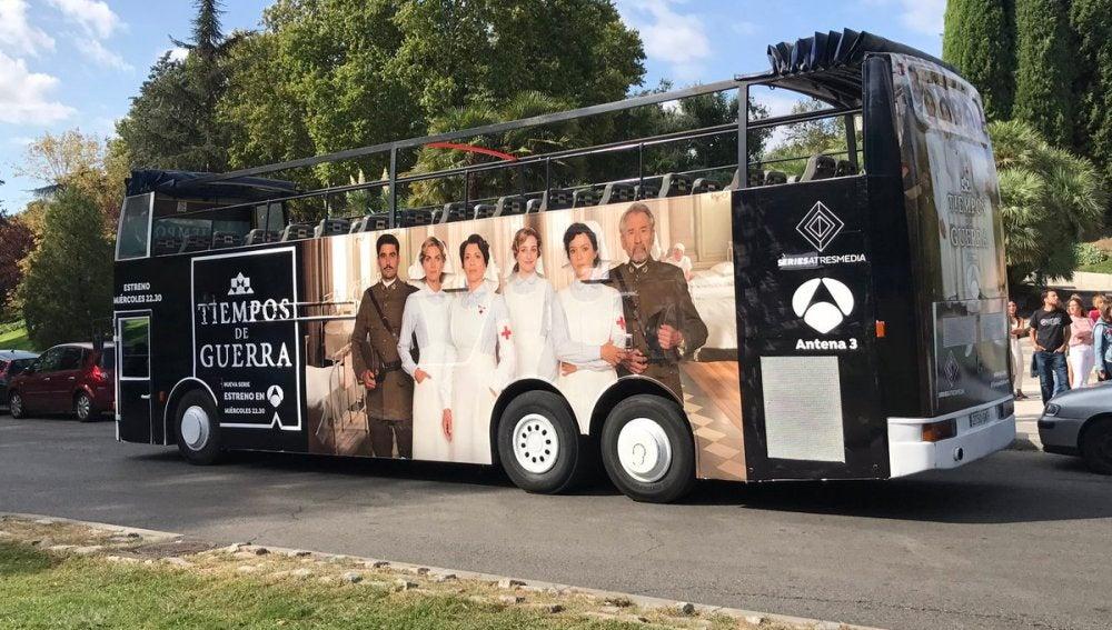 ¡El autobus de 'Tiempos de Guerra' ya ha empezado a rodas!