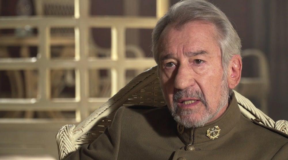 "José Sacristán: ""Mi condición militar estará por encima de todo"""