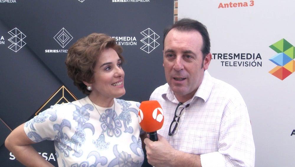 """Anabel Alonso y Antonio Molero: """"No queremos saber qué les va a pasar a nuestros personajes"""""""
