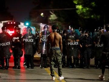 Violentas protestas en EEUU