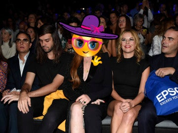 Lindsay Lohan en la Fashion Week Madrid