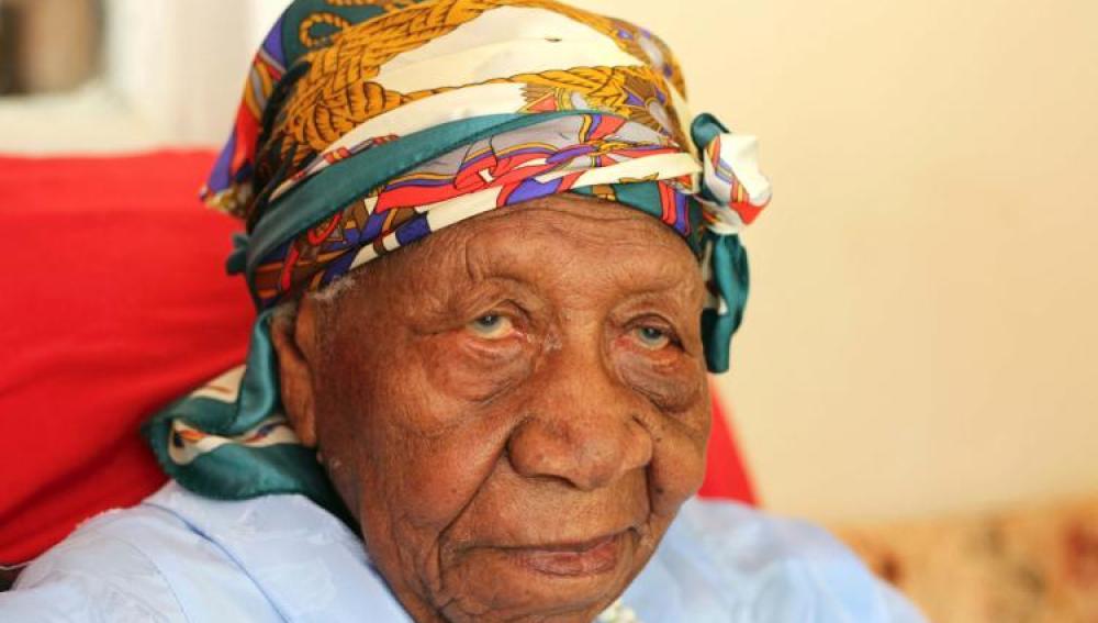 Violet Mosse-Brown, la persona más anciana del mundo en 2017