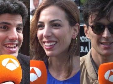 Los actores de 'Tiempos de guerra' desvelan impacientes cómo vivirán el estreno