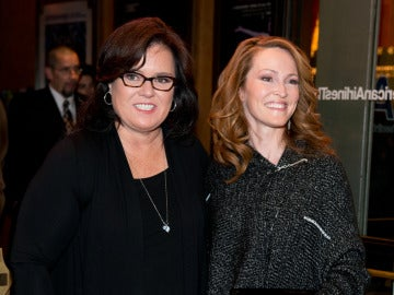 Rosie O'Donnell y Michelle Rounds