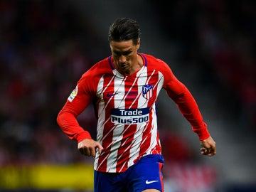Fernando Torres, con el Atlético