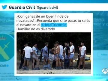 La Guardia Civil y la Policía alertan sobre las novatadas coincidiendo con el inicio del curso escolar