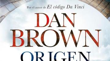 Portada de Origen, de Dan Brown