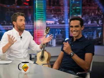 Los momentazos que Alberto Contador ha vivido en 'El Hormiguero 3.0'