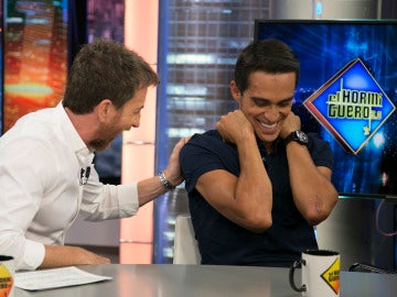 Las 'heridas de guerra' de Alberto Contador
