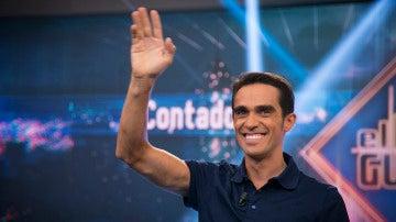 La curiosa petición de un aficionado a Contador
