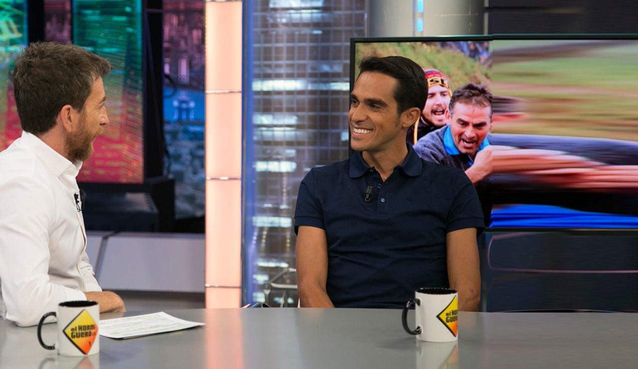 Alberto Contador en El Hormiguero