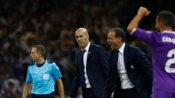 Zidane y Allegri en la Champions