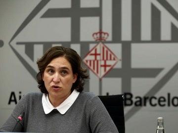 Ada Colau, alcaldesa de Barcelona, en una imagen de archivo