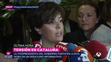 """Santamaría, a Puigdemont: """"Hasta cuándo vas a seguir abusando y tensionando al pueblo de Cataluña"""""""
