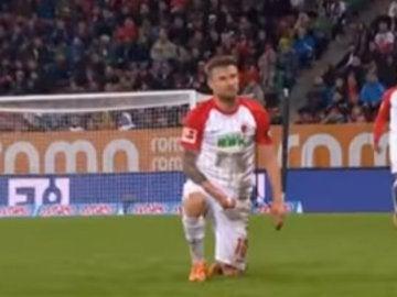 Polémica imagen en la Bundesliga