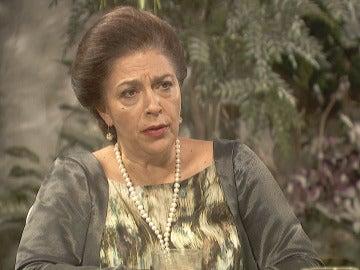 """Prudencio sobre Julieta: """"Ha ocurrido algo que usted no sabe, Francisca"""""""