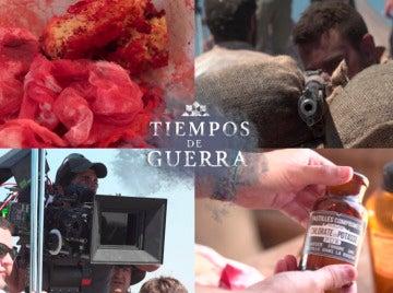 El espectacular despliegue del equipo artístico de 'Tiempos de guerra' para recrear Igueriben