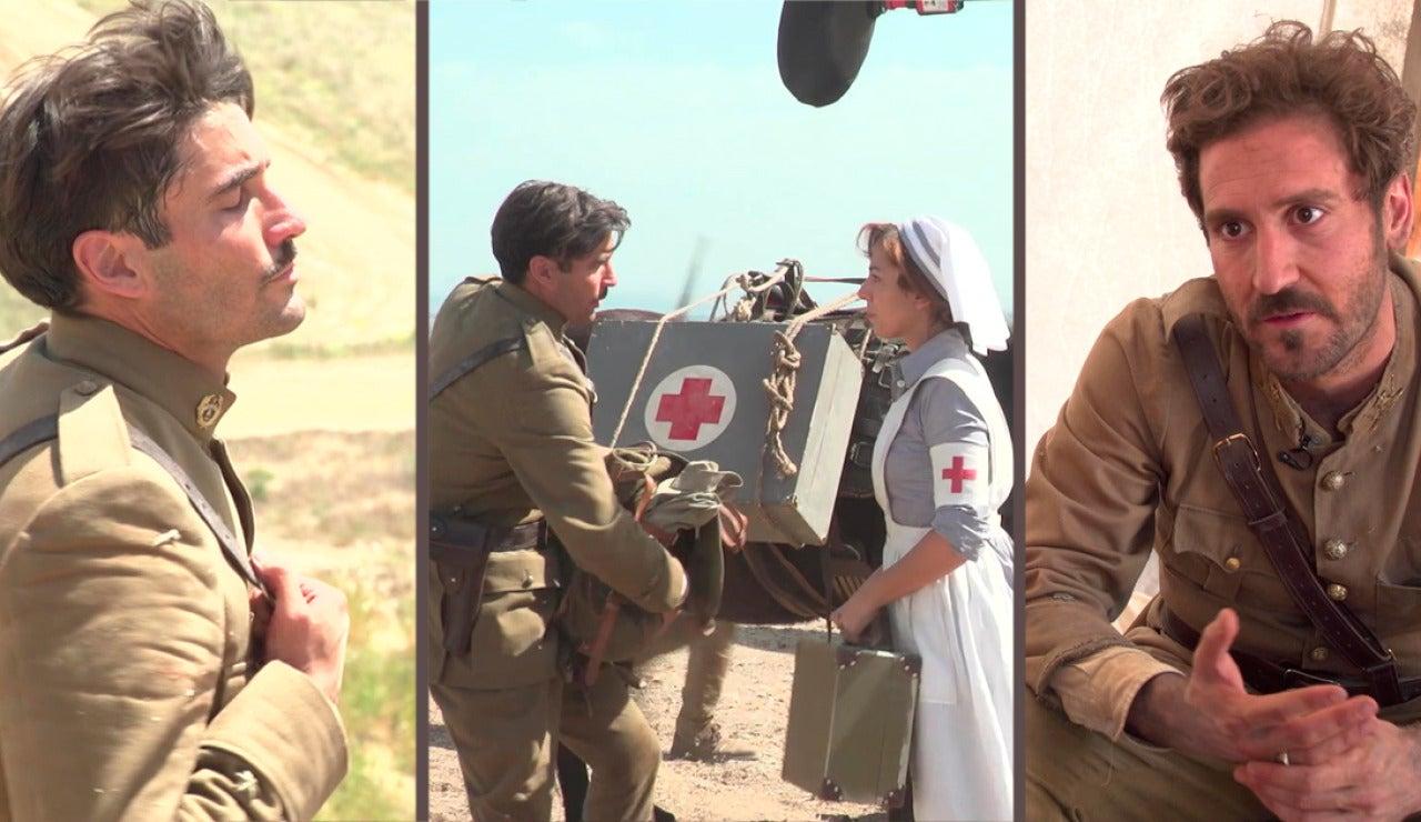 Así se grabó la gran batalla y el desembarco de las Damas Enfermeras en Melilla