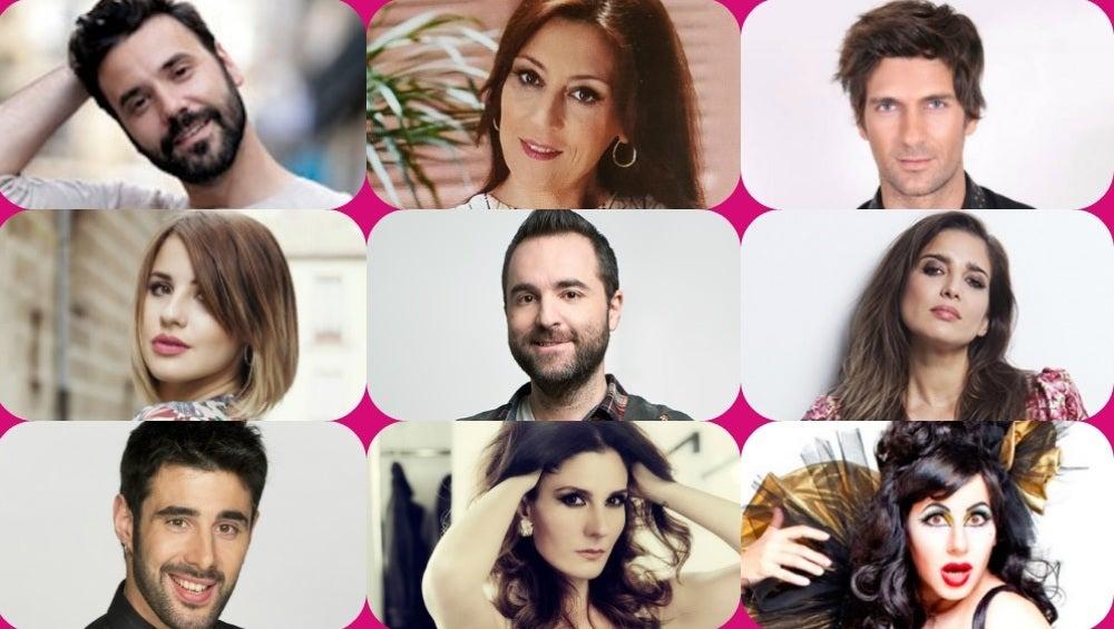 Los concursantes de la sexta edición de 'Tu cara me suena'