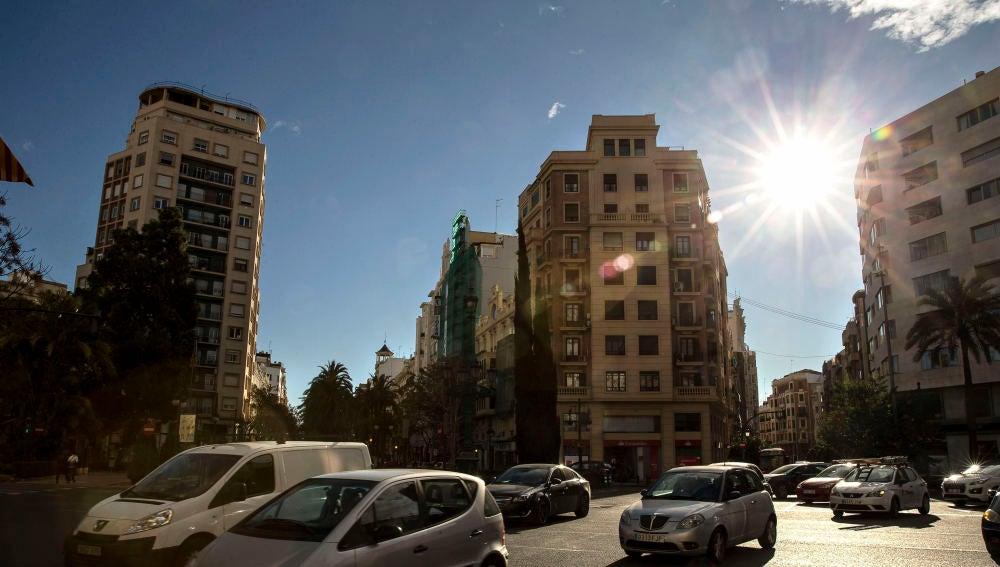 Una calle de Valencia