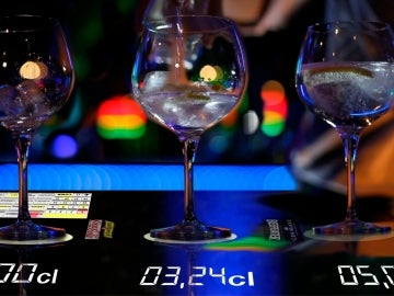 Barra de bar interactiva