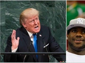 LeBron James y Chris Paul cargan contra Donald Trump
