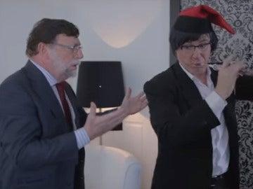 Los Morancos parodian a Rajoy y Puigdemont