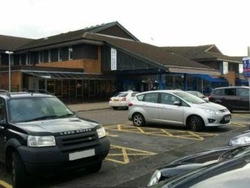 Hospital 'Princess of Wales' donde fueron atendidos los menores