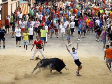 Imagen de archivo de un 'bous al carrer'