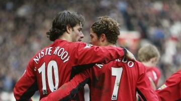 Van Nistelrooy, con Cristiano