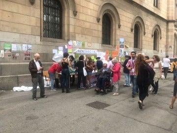 Estudiantes en Cataluña