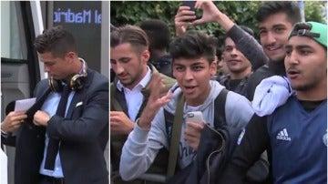 Cristiano Ronaldo y la afición