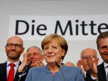Foto de archivo de Angela Merkel