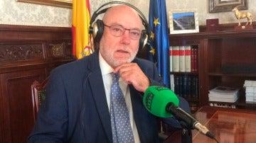 El fiscal general del Estado, José Manuel Maza, durante una entrevista en Onda Cero