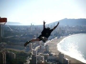 Saltos extremos en Benidorm