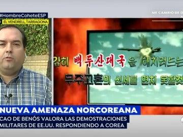 """Cao de Benós, sobre la actuación de Corea del Norte: """"Es una muestra de fuerza más que un preludio de un ataque"""""""