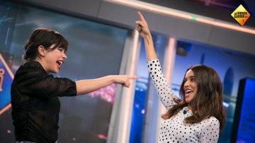Anna Castillo y Macarena García cantan por Whitney Houston en 'El Hormiguero 3.0'