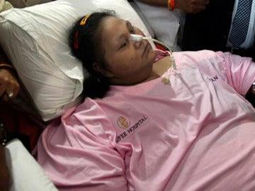 Eman Ahmed Abd El Aty, la egipcia que llegó a pesar 500 kilos