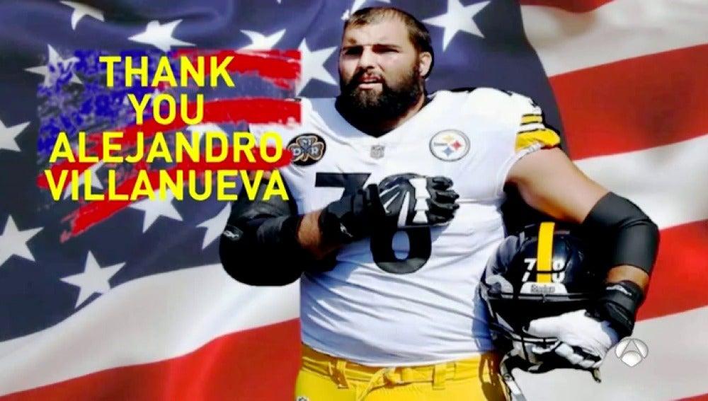 El español Villanueva arrasa en la NFL en plena polémica Trump: fue el único que salió durante el himno de EEUU