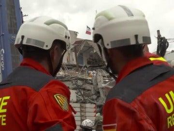 Siguen buscando sobrevivientes en México, entre ellos al español Jorge Gómez